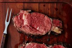 Lynne Curry's Prime Rib with Mustard and Herb Butter, a recipe on Food52