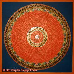 Black Tara Mantra | newari green tara thanka black mantra mandala mantra mandala orange ...