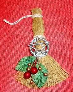 Mini Yule Besom Ornament or Decoration