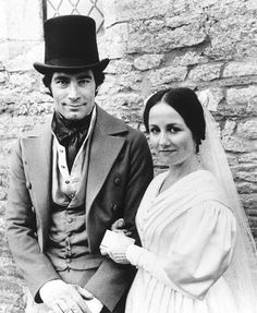 Timothy Dalton and Zelah Clark  in Jane Eyre, 1983