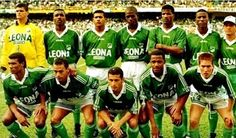 Equipos de fútbol: DEPORTIVO CALI 1995-96