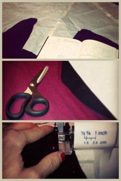 il percorso di un abito: carta - forbici - macchina
