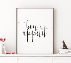 BON APPETIT Sign Kitchen Wall Decor,Kitchen Sign,Restaurant Decor,Bar Decor,Food…