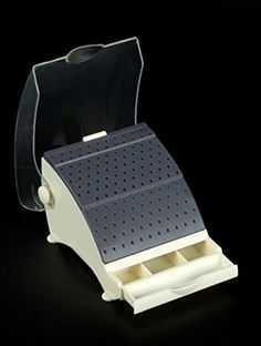 Dental Bur Block / Holder / Station with Pull out Drawer - Holds 142 Burs Shadental http://www.amazon.com/dp/B01CD52DUE/ref=cm_sw_r_pi_dp_1yT9wb1Q3S8Z2