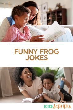 18 Funny Frog Jokes for Kids - Kid Activities Funny Riddles, Funny Jokes For Kids, Silly Jokes, Funny Puns, Jokes Kids, Funny Knock Knock Jokes, Halloween Quotes, Funny Halloween, Frog Activities