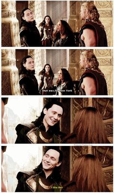 Thor: the dark world Loki scene. The delivery in the actual movie is even funnier than it was in the trailer.