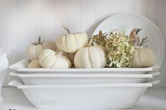 Craftberry Bush: Fall at home...the hutch