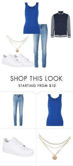"""""""Andrew Clark: The Breakfast Club"""" by kiara-fleming ❤ liked on Polyvore featuring Givenchy, Tory Sport, NIKE and Hilfiger Denim"""
