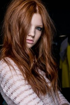 1.red hair color trends 2014