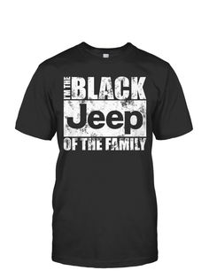 Limited Edition - Black Jeep of the Family
