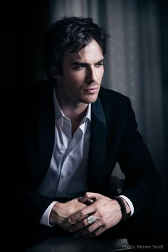 Ian- damon has lost his hotness because he likes the dumb ass elena but he is nice to look at regardless.