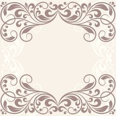 free victorian wedding borders and frames - Google Search