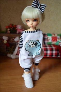 Пижамка и домашние угги для Littlefee и подобных кукол. / Все для BJD / Шопик. Продать купить куклу / Бэйбики. Куклы фото. Одежда для кукол