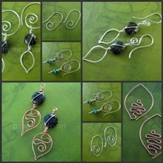 wire wrapped bracelet tutorial free - Google Search