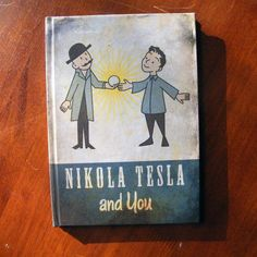 Nikola Tesla and You A5 Notebook by Chanced1 on Etsy
