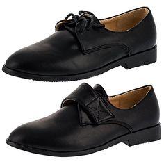 Jungen Schuh in Mattem Schwarz, Schnürer oder Klettverschluss - http://on-line-kaufen.de/unbekannt/jungen-schuh-in-mattem-schwarz-schnuerer-oder