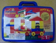 Manetico Magnet System Building Block Toy Kit Klein Creative Box Plastic #Klein