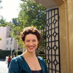 https://www.facebook.com/OutlanderItaly/photos/ms.c.eJw9zckNwEAMAsCOIh~ Cait, being her usual pretty self :)