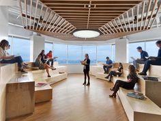 Saatchi & Saatchi Offices - New York City - Office Snapshots #moderninteriordesignoffice