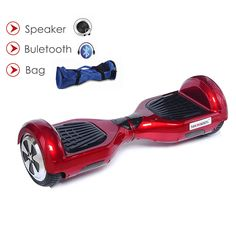 Duty free 6.5inch 2 wheel standing drift board self balance electric scooter bluetooth  bag remote smart electric hoverboard