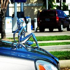 Hood Ornament***Research for possible future project....Re-pin brought to you by agents of #Carinsurance at #HouseofInsurance in Eugene, Oregon.