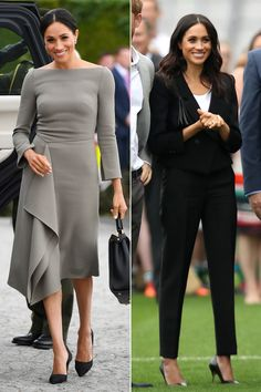 Meghan Markle Has Already Rocked Two Very Different Looks Today in Ireland: See the Photos!