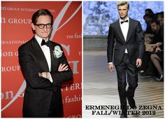 The Derek's Blog: Hamish Bowles en Ermenegildo Zegna – 29th Night Of Stars de Fashion Group International