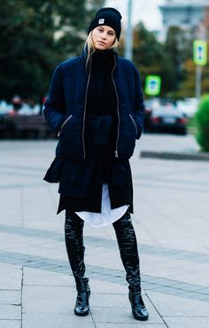 How the Blogging Set Stays Stylish In Sub-Zero Temperatures via @WhoWhatWearUK