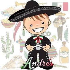 BANCO DE IMAGENES GRATIS: 50 imágenes de charros mexicanos con nombres de niños…