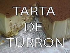Tarta de Turrón casera Fácil y Rápida - YouTube Spanish Food, Cheesecakes, Quiche, Gluten Free, Cooking, Desserts, Recipes, Christmas, House