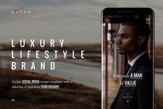 ASTON Luxury Lifestyle Brand by NordWood on @creativemarket
