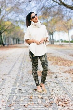 Camo pants are a great way to add a little edginess to any outfit. Camo has become very popular in fashion over the past few months, because it's a different style that is very bold. It can sometimes be difficult though to create an outfit with camo pants, but we've got you!Check out these 9 …