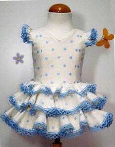 Resultado de imagen de trajes gitana niña