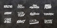 Various DJ Logos