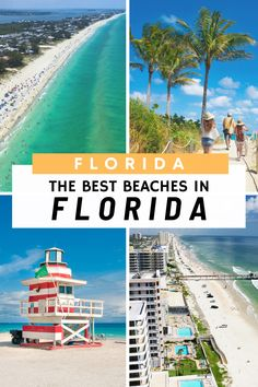 Florida Beaches: discover the best Beaches in Florida! From the famous Miami South Beach to Key West there are so many great beaches to visit in South Florida. Our top Florida Beaches include: Miami Beach, Hollywood Beach, Fort Lauderdale by Sea, Clearwater Beach, Singer Island, Panama City Beach and Destin. Explore our top places to visit in Florida and best things to do in Florida #florida #floridabeaches Hollywood Beach Florida, Best Beach In Florida, Destin Beach, Beach Trip, City Beach, South Florida, South Beach, Miami Beach, Hawaii Beach