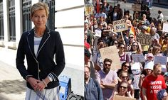 Anger is spilling over onto the streets of London. Three days after a tower block of sleeping people turned into a flaming torch in the sky, people have had enough, writes KATIE HOPKINS.
