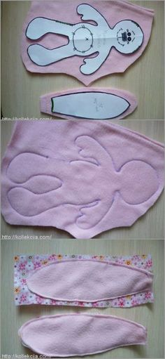 Stuffed bunny pattern