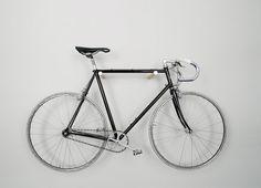 wooden bike hook white by fluoshop on Etsy, €65.00