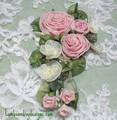 French Ribbon Roses