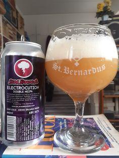 Salama Brewing - Electrocution Double Neipa(+Wheat & Oat) 8,0% tölkki***3/4 9.5.2021 KOTONA Salama, Beer Brewery, Photo Checks, Brewing Company, Finland, Drinking, Alcoholic Drinks, Bottle, Beverage