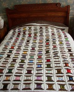 - Charming Spools Quilt.  All I can say is WOW!