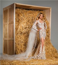 Daisy without over skirt / detachable skirt | Stunning Wedding Dresses – Zuhair Murad's Bridal Collection 2015