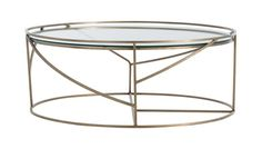 The blithe spirit of Deco lives on in this elegant cocktail table. Floating glass top is railed to protect drinks and other placed objects. Cocktail Tables, Clear Glass, Family Room, Cocktails, Interior Design, Antiques, Furniture, Coffee Tables, Home Decor