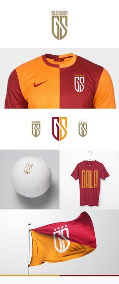 Galatasaray Re-Branding as Juventus 2017 Style Soccer Logo, Sports Logo, Brand Identity, Logo Branding, Branding Ideas, Visual Identity, Inspiration Logo Design, Sports Graphics, Sport Design