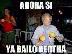 Ahora si ya bailó Berta