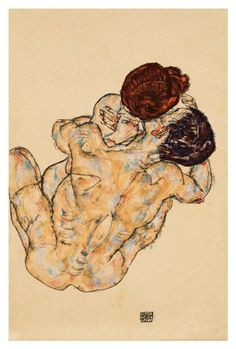 View Mann und Frau Umarmung by Egon Schiele on artnet. Browse upcoming and past auction lots by Egon Schiele. Gustav Klimt, Guy Drawing, Figure Drawing, Painting & Drawing, Dessins Egon Schiele, Beaux Arts Architecture, Figurative Kunst, Canvas Art, Canvas Prints