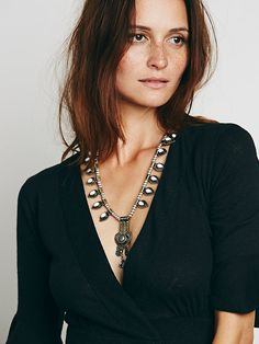 Free People Deco Drop Pendant at Free People Clothing Boutique $48