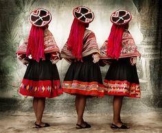 XIII, Women´s festive dress for the Wallatas dance, rural communities of Patacancha and Willoc, district of Ollantaytambo, province of Urubamba, Cusco, Peru 2010 - Google Arts & Culture