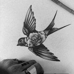 Ideas tattoo bird chest design Ideas tattoo bird chest designYou can find Bird tattoos and more on our Ideas tattoo bird chest design Ideas tattoo bird chest design Tatoo Bird, Swallow Bird Tattoos, Swallow Tattoo Design, Chest Tattoo Birds, Chest Piece Tattoos, Body Art Tattoos, New Tattoos, Sleeve Tattoos, Wing Tattoos
