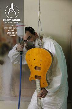 Exhibitor at The Holy Grail Guitar Show 2014: Mikaël Springer, Springer Guitars, France http://www.springerguitars.com https://www.facebook.com/springerguitars http://holygrailguitarshow.com